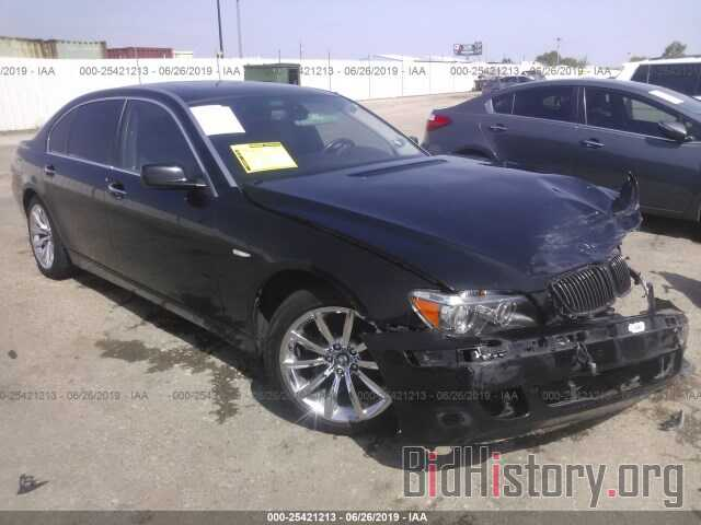 Photo WBAHN83517DT67676 - BMW 750 2007