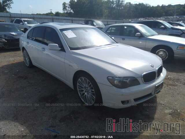 Photo WBAHN83527DT72062 - BMW 750 2007