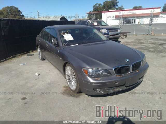 Photo WBAHN83507DT67989 - BMW 750 2007