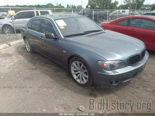 Photo WBAHN83597DT67585 - BMW 750 2007