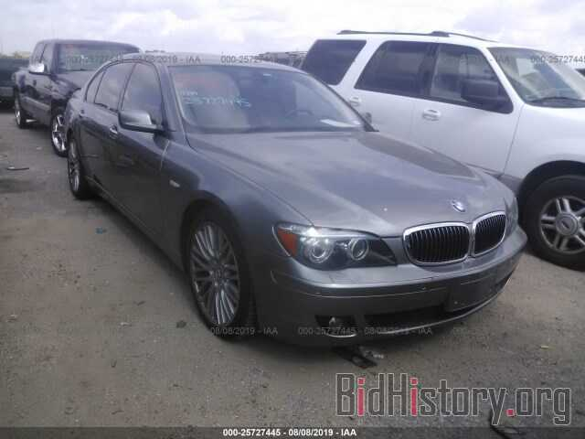 Photo WBAHN83577DT65415 - BMW 750 2007
