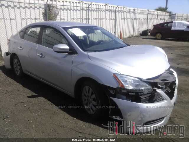 Photo 3N1AB7APXEY302205 - NISSAN SENTRA 2014