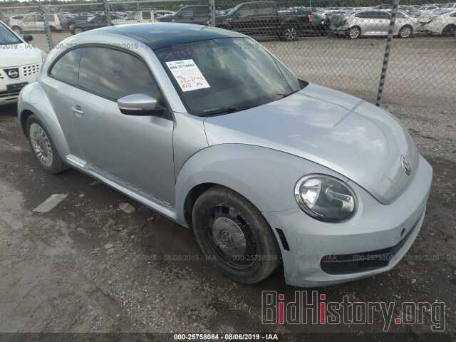 Фотография 3VWJX7AT9DM686444 - VOLKSWAGEN BEETLE 2013