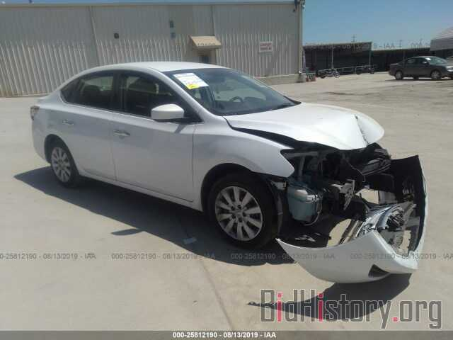 Photo 3N1AB7AP9EY263820 - NISSAN SENTRA 2014