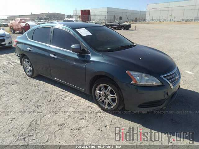 Photo 3N1AB7AP8EY229402 - NISSAN SENTRA 2014
