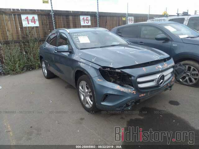 Photo WDCTG4GB3FJ055045 - MERCEDES-BENZ GLA 2015