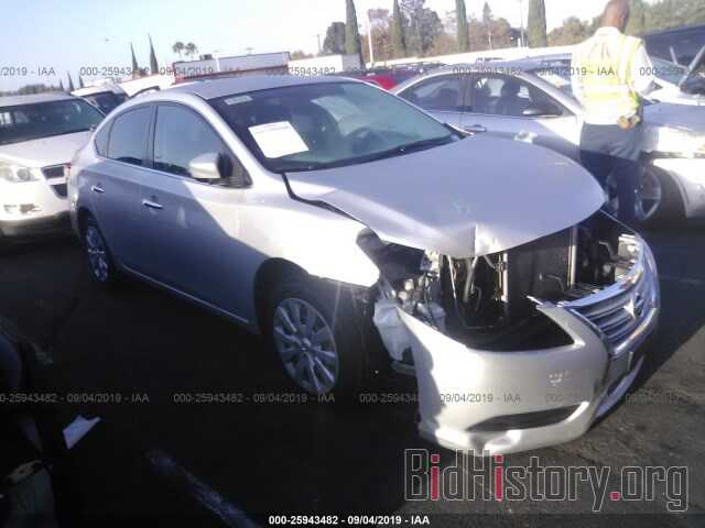 Photo 3N1AB7AP1EL694259 - NISSAN SENTRA 2014