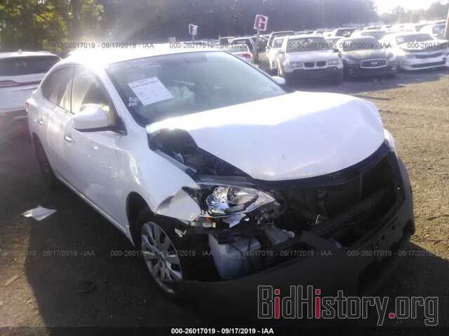 Photo 3N1AB7AP8EL690984 - NISSAN SENTRA 2014