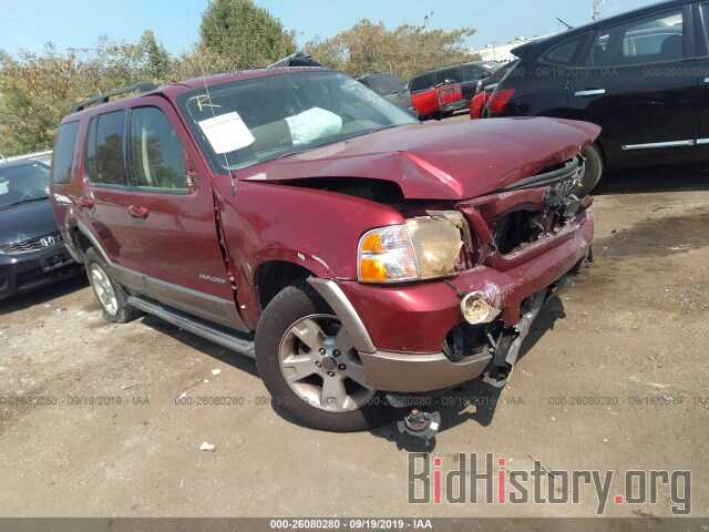 Photo 1FMZU64K54UB38010 - FORD EXPLORER 2004
