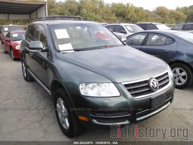 Photo WVGZG77L76D007472 - VOLKSWAGEN TOUAREG 2006