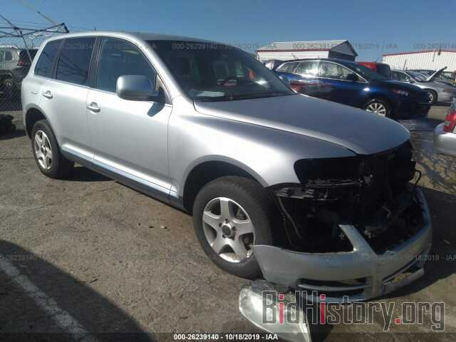 Photo WVGZG77L46D033138 - VOLKSWAGEN TOUAREG 2006