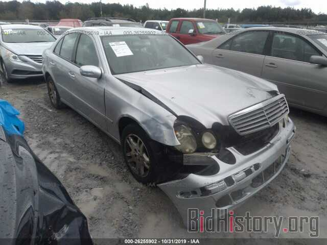 Photo WDBUF26JX6A892612 - MERCEDES-BENZ E 2006