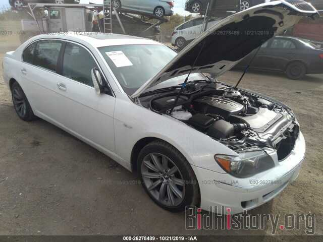 Photo WBAHN83527DT69369 - BMW 750 2007