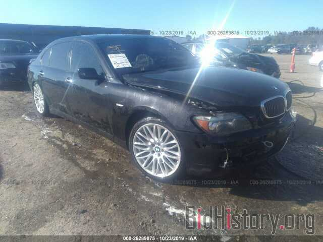 Photo WBAHN83517DT69749 - BMW 750 2007
