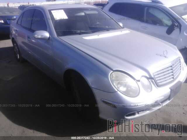 Photo WDBUF56J46A954703 - MERCEDES-BENZ E 2006
