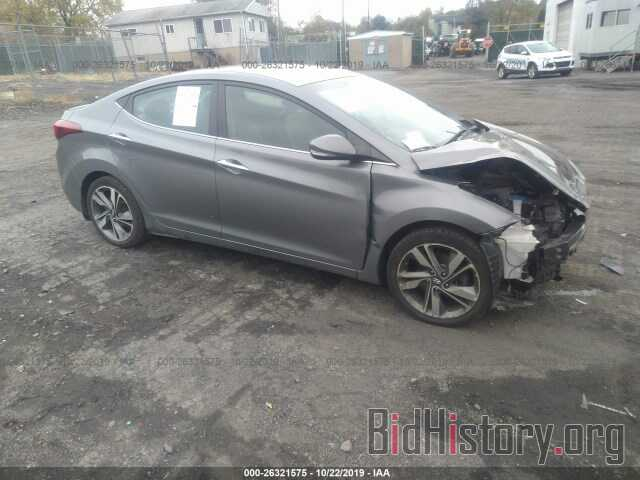 Photo 5NPDH4AE7EH484674 - HYUNDAI ELANTRA 2014