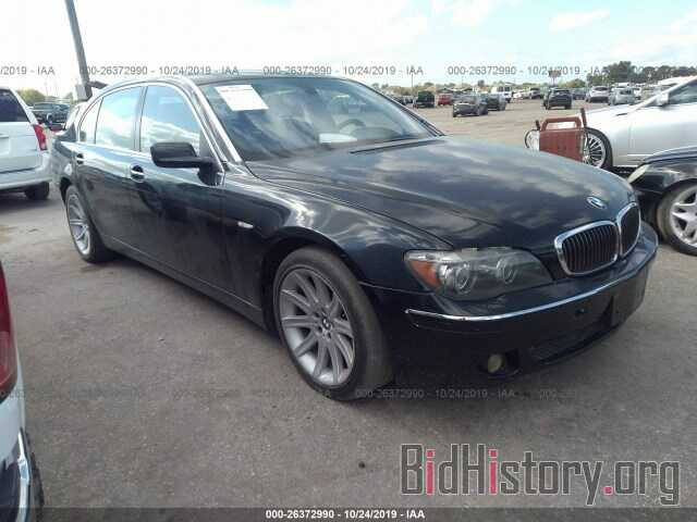 Photo WBAHN83527DT69162 - BMW 750 2007