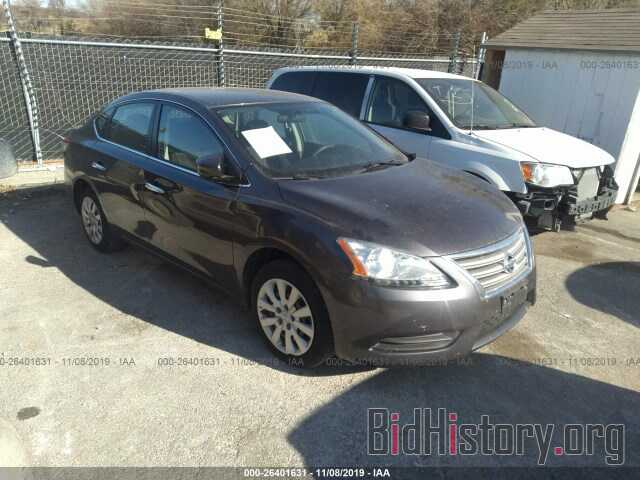 Photo 3N1AB7AP4EY250036 - NISSAN SENTRA 2014