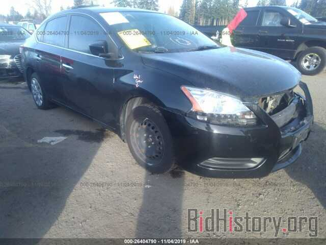 Photo 3N1AB7AP7EY236910 - NISSAN SENTRA 2014
