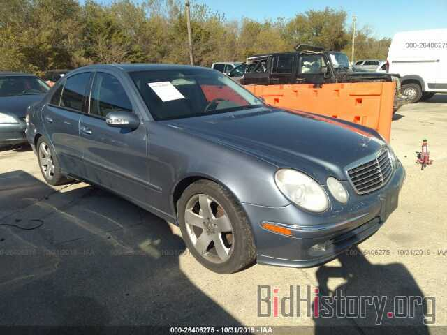 Photo WDBUF56J16A813913 - MERCEDES-BENZ E 2006