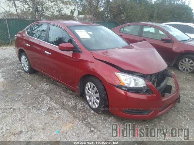 Photo 3N1AB7AP2EY259527 - NISSAN SENTRA 2014