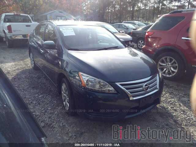 Photo 3N1AB7AP2EY232568 - NISSAN SENTRA 2014