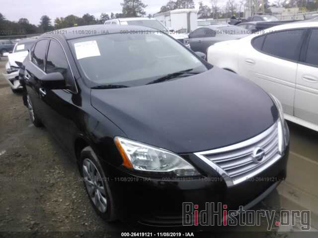 Photo 3N1AB7AP6EL691888 - NISSAN SENTRA 2014