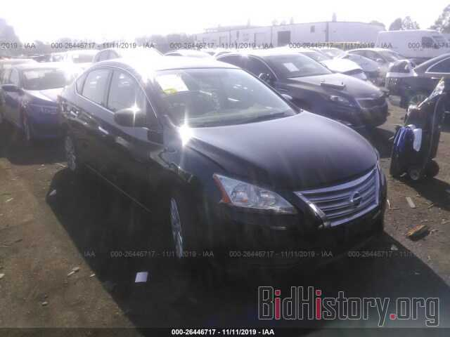 Photo 3N1AB7AP3EL657049 - NISSAN SENTRA 2014