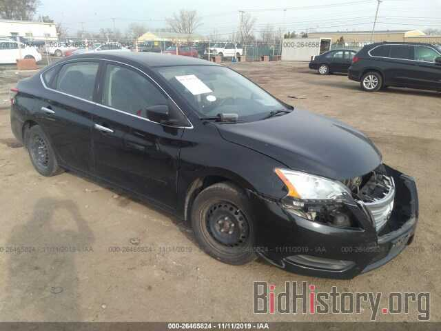 Photo 3N1AB7AP7EY220870 - NISSAN SENTRA 2014