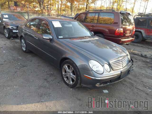 Photo WDBUF56J86A857648 - MERCEDES-BENZ E 2006