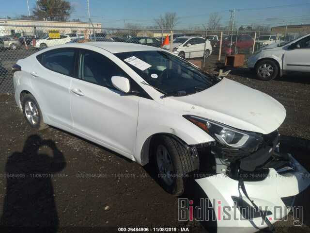 Photo 5NPDH4AEXEH458084 - HYUNDAI ELANTRA 2014