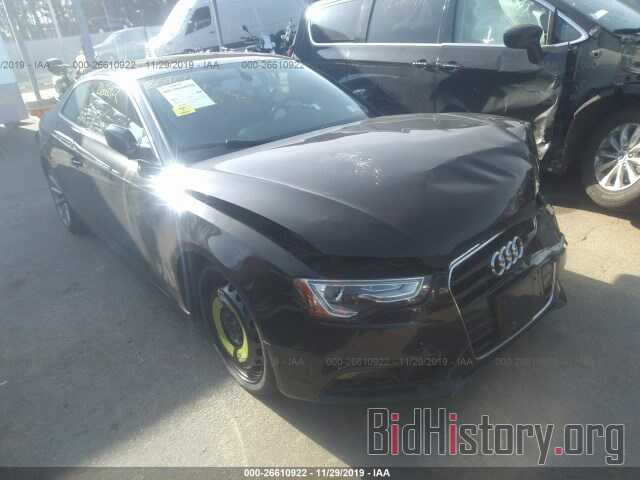 Photo WAUCFAFR2FA016336 - AUDI A5 2015