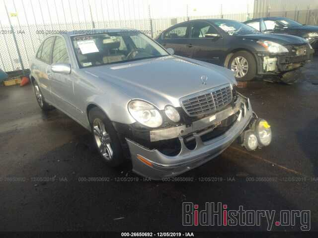 Photo WDBUF56J66A838631 - MERCEDES-BENZ E 2006
