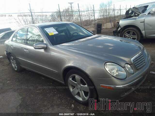 Photo WDBUF87J56X192754 - MERCEDES-BENZ E 2006