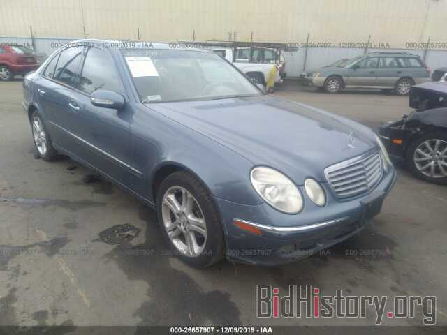 Photo WDBUF56J26A960824 - MERCEDES-BENZ E 2006