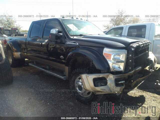 Photo 1FT8W4DT3BEA55383 - FORD F450 2011