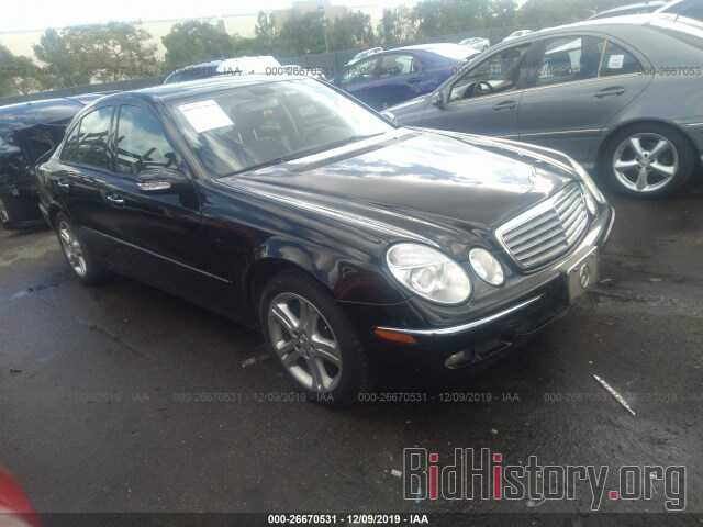 Photo WDBUF56J06A925747 - MERCEDES-BENZ E 2006