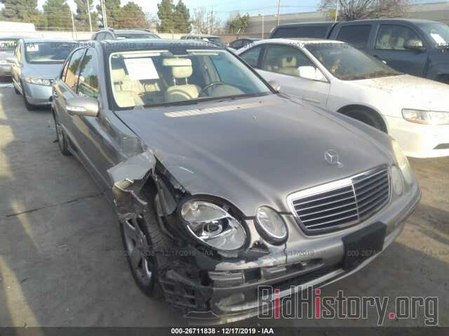 Photo WDBUF87J86X181747 - MERCEDES-BENZ E 2006