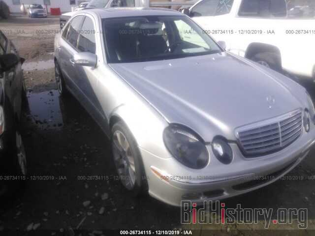 Photo WDBUF56J46A767963 - MERCEDES-BENZ E 2006