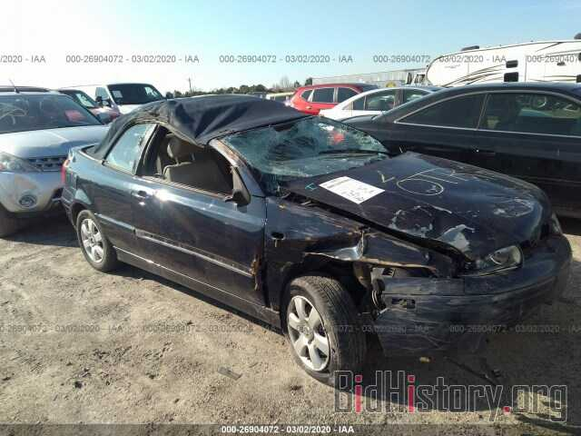 Photo 3VWDC21V81M813340 - VOLKSWAGEN CABRIO 2001