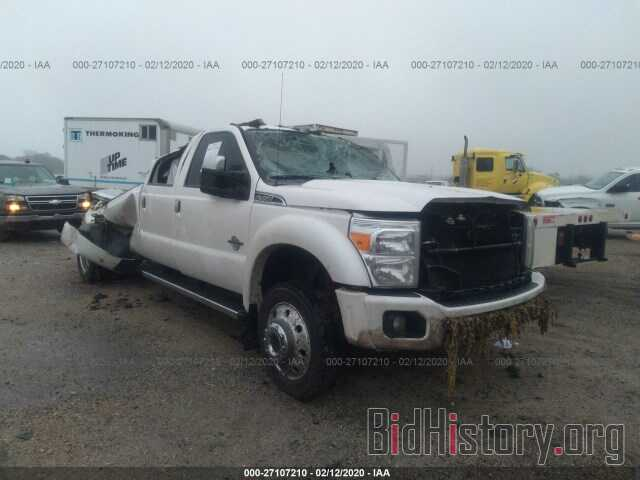 Photo 1FT8W4DT3GEA12332 - FORD F450 2016