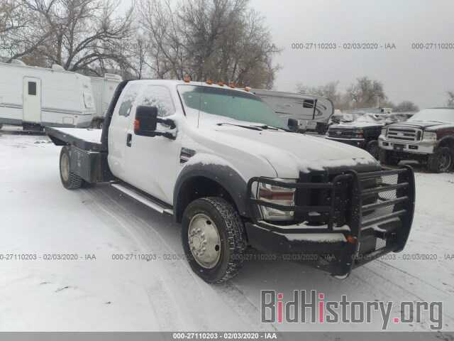 Photo 1FDXX47R98EA54820 - FORD F450 2008