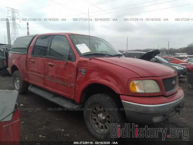 Photo 1FTRW08L91KE63488 - FORD F150 2001