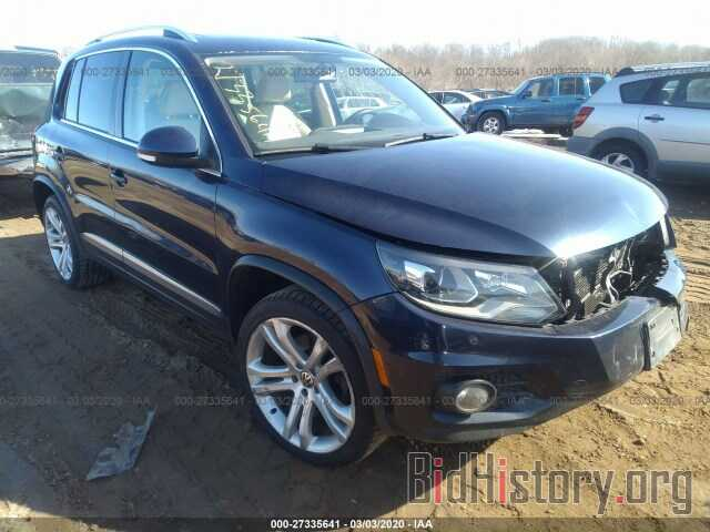 Photo WVGBV7AX6DW513010 - VOLKSWAGEN TIGUAN 2013