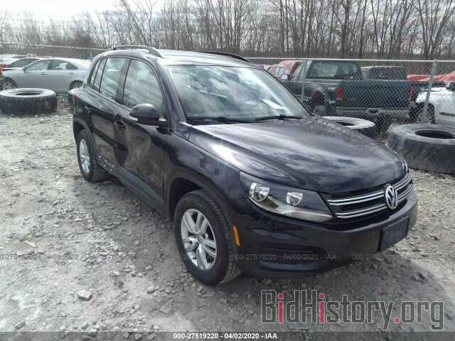 Photo WVGBV7AX1HW511509 - VOLKSWAGEN TIGUAN 2017