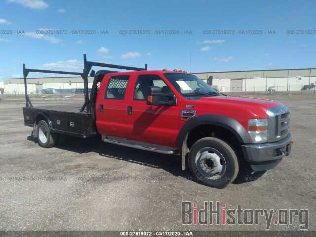 Photo 1FDXW46R28ED36298 - FORD F450 2008