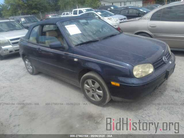 Photo 3VWDC21V82M806230 - VOLKSWAGEN CABRIO 2002