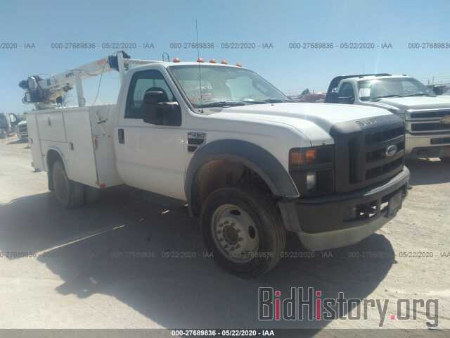 Photo 1FDXF46R08ED61877 - FORD F450 2008