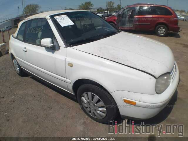 Photo 3VWCC21V0YM801382 - VOLKSWAGEN CABRIO 2000