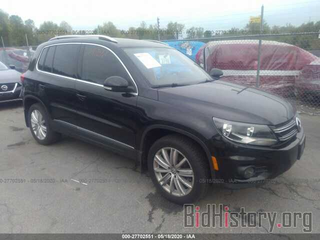 Photo WVGBV7AX5DW554423 - VOLKSWAGEN TIGUAN 2013